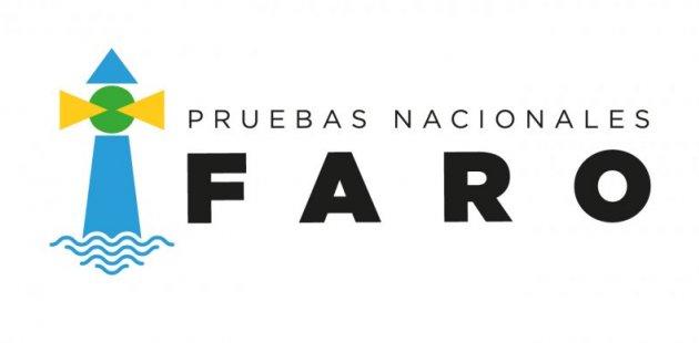 Imagen muestra el logo oficial de las pruebas nacionales