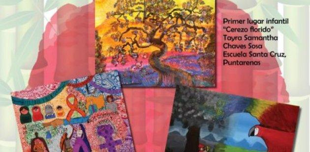 Ilustra los cuadros de los 3 primeros lugares de modalidad escolar al concurso