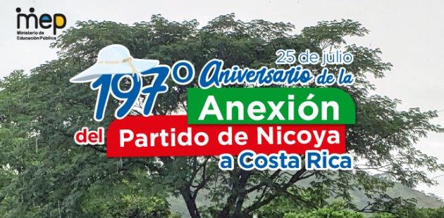 Árbol de Guanacaste. 197º Aniversario de la Anexión del Partido de Nicoya.