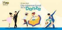 Se ilustra diferentes personas bailando danza