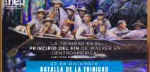 """En la imagen se destaca la frase """"La Trinidad es el principio del fin de Walker"""