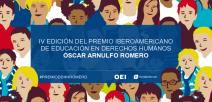 Imagen de presentación del Premio de Educación en Derechos Humanos