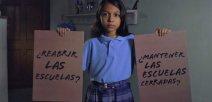 Imagen ilustrativa de la campaña #LasEscuelasPrimero