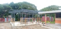 Centro educativo en construcción en la provincia de Puntarenas.