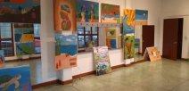 Imágenes de diferentes cuadros de pinturas.
